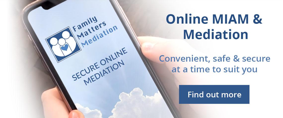 Online MIAM & Mediation